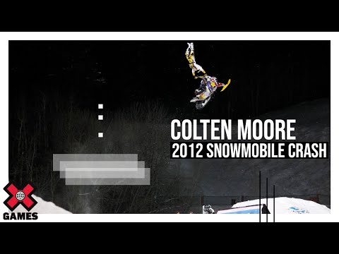 Winter X Games 2012 - Colten Moore Crash
