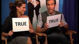 TRUE or FALSE quiz with Sandra Bullock and Ryan Reynolds
