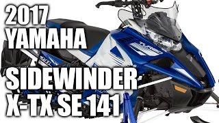 9. TEST RIDE: 2017 Yamaha Sidewinder X-TX SE 141