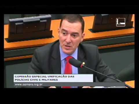 Vinicius Carvalho debate proposta de unificação das polícias