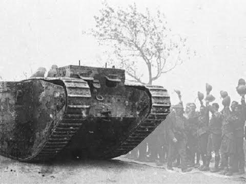 """Mis videos. """"El primer triunfo del tanque. La batalla de Cambrai (1917)"""""""