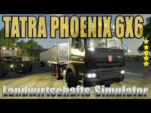 Tatra Phoenix 6x6 Nerd Blue MP v1.2