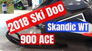 7. 2018 SkiDoo Skandic WT 900 ACE 4 stroke engine