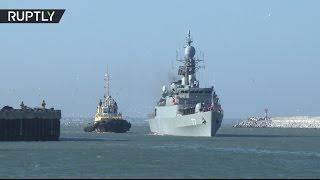 Отряд боевых кораблей Ирана вошёл в порт Махачкалы с неофициальным визитом