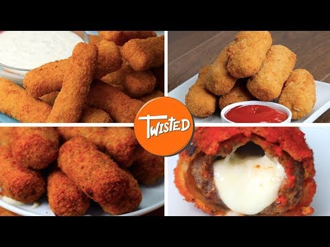 Delicious Mozzarella Sticks 9 Ways | Twisted