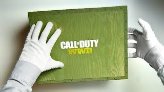 CALL OF DUTY WWII DEPLOYMENT KIT UNBOXING! WW2 Collector's Limited Edition