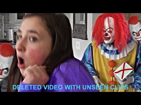 Video Scary Creepy Clown Breaks in Our House and Runs After Us download in MP3, 3GP, MP4, WEBM, AVI, FLV January 2017