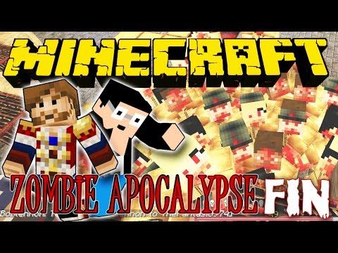 Zombie Apocalypse – Ep 4: FIN – Fanta et Bob dans Minecraft