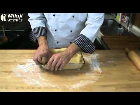 Slaný koláč s gruyérem
