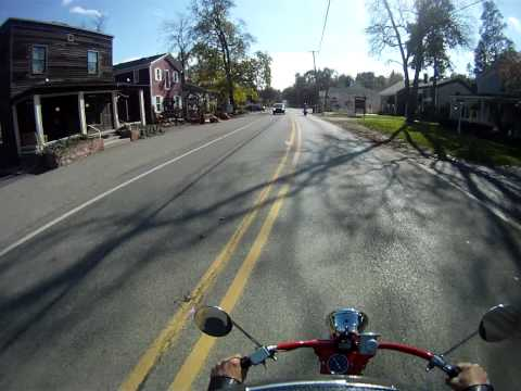 Cushman Motor Scooters - Ride from Cider Mill to Ice Cream Shop