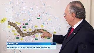Transporte público de Sorocaba vai contar com o BRT até 2020
