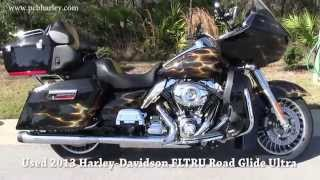 9. Used 2013 Harley Davidson FLTRU Road Glide Ultra CUSTOM PAINT