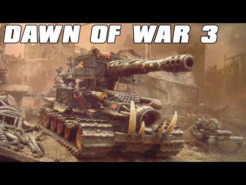 Dawn of War 3 Multiplayer 3v3 Supa Trakk Defense