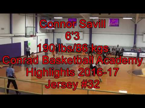 Connor Savill USA Highlights 2016-17