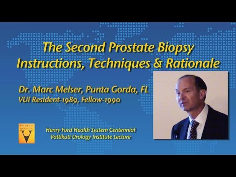 The Second Prostate Biopsy- Instructions, Techniques and Rationale