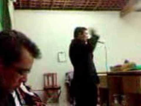 Ivamar Machado pregando em São José - Culto de Missões - fone para contato (83) 98373839