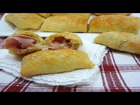video ricetta: involtini di prosciutto.