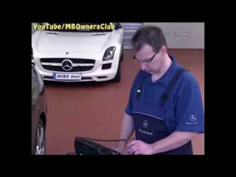 Mercedes Benz   EEPROM data are read out by Star Diagnosis