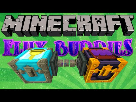 Minecraft – Flux Buddies #34 – Item Translocator  (Yogscast Complete Mod Pack)