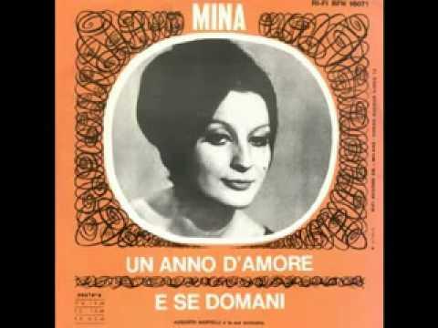 Tekst piosenki Mina - Un anno d'amore po polsku