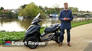 9. 2013 Piaggio MP3 Yourban bike review