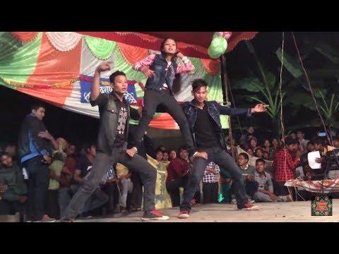 nepali tharu triple best stage performance by raj