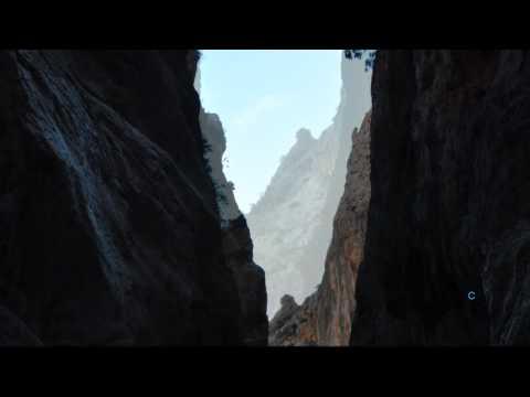 Tiefer Canyon bei Dorgali, Ost-Sardinien