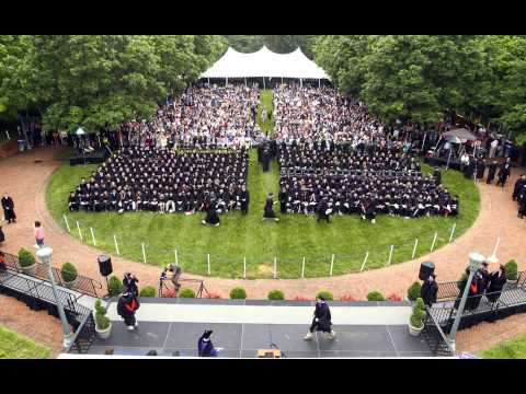 2013 UVA Law School Graduation Time-lapse