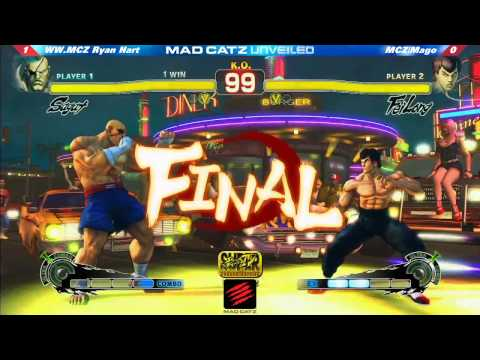 Super Street Fighter 4 - Super Street Fighter 4 AE 2012 Ryan Hart (Sa) vs Mago (Fei) Mad Catz Unveiled Follow us on Facebook for the latest news! https://www.facebook.com/GODSGARDEN....