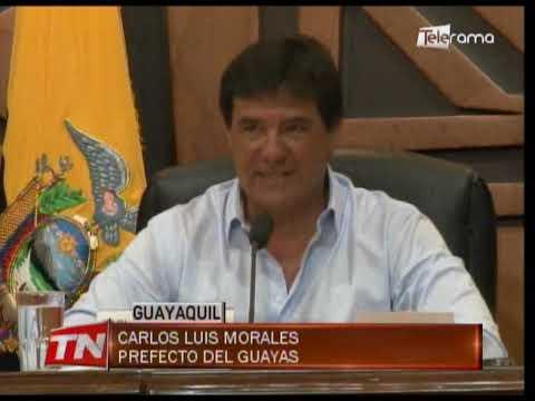 Morales confirmó que en 15 días se abrirán puertas prefectura Guayas