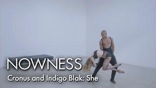 Cronus & Indigo Blak: A hyper-sexual ballet tryst for new music video 'She'