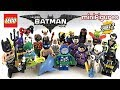 LEGO Batman Minifigures Series 2 review! ALL 20 figures!