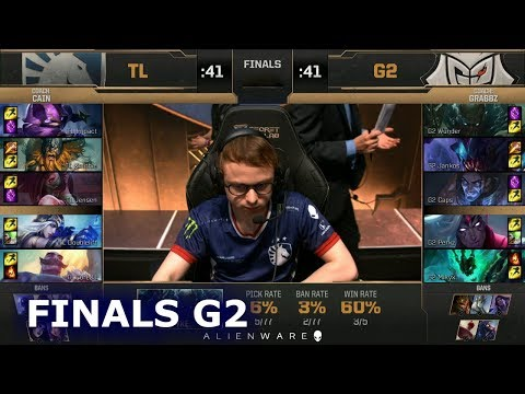 G2 eSports vs Team Liquid - Game 2 | Grand Final LoL MSI 2019 | G2 vs TL G-2