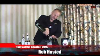 Flairbar.com Show with Rob Husted behind the bar @ Tales of the Cocktail 2015!