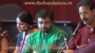 April Community News with Gauri (part 4) including KHMC concert