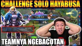 Video CHALLENGE SOLO RANKED HAYABUSA MALAH BERANTEM MANIAC DI SAMPAH !!! - Mobile Legend Bang Bang MP3, 3GP, MP4, WEBM, AVI, FLV September 2018