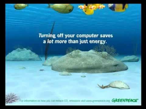 , title : 'Greenpeace - a képernyővédő sem energiatakarékos - 2 perc - 2007'