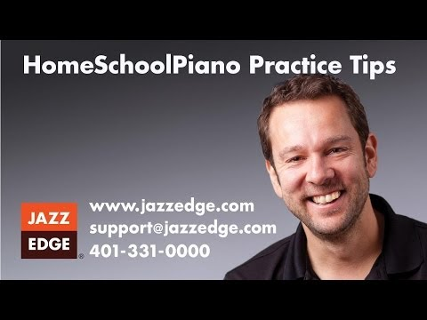 Learn to Play Piano at Home: HomeSchoolPiano Practice Tips