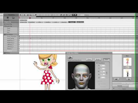 CrazyTalk Animator Tutorial – Advanced Timeline Editing