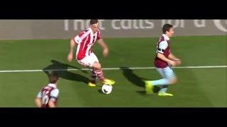 Marko Arnautovic trifft gegen West Ham United
