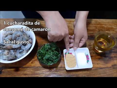 Videos caseros - Camarones al Ajillo Caseros , Rápidos, Ricos y Fáciles