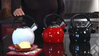 Omni™ 2 Quart Enamel Teakettle Demo Video Icon