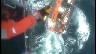 A fishing vessel that was sinking off the coast of Scotland has been towed safely to shore after sending a Mayday call to the Coastguard for help. At 11am on...