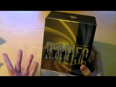 Celebrating 50 Years of James Bond #2 - James Bond 50th Anniversary DVD Collection Unboxing