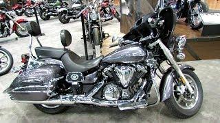 4. 2014 Yamaha V-Star 1300 Deluxe Walkaround - 2013 NY Motorcycle Show