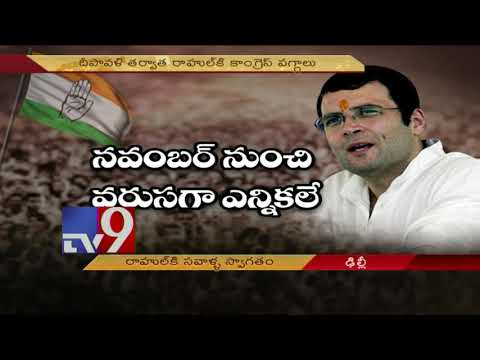 Upcoming State & General elections a test for Rahul Gandhi
