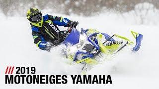 8. Motoneiges 2019 de Yamaha – Gamme complète