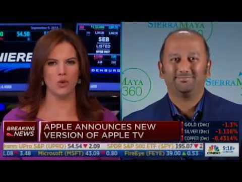 Amish Shah Discusses New Apple Updates on CNBC's Closing Bell 9-9-15