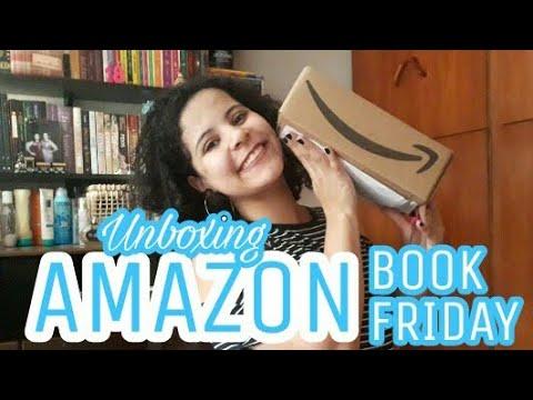 UNBOXING #08: AMAZON - BOOK FRIDAY | Livraneios