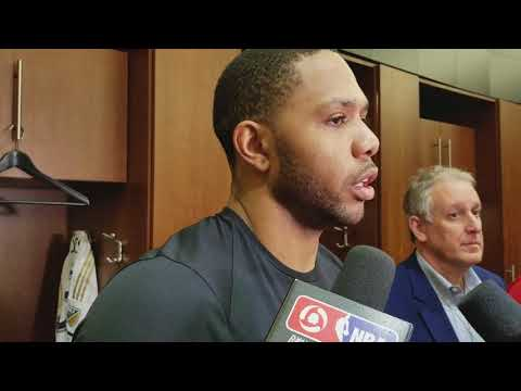 Eric Gordon after Houston's OT win over the Poisons